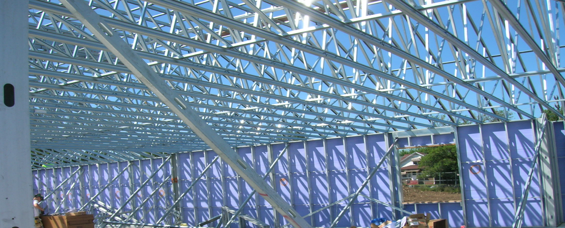 Cascade Manufacturing Company — Steel Trusses, Steel Wall